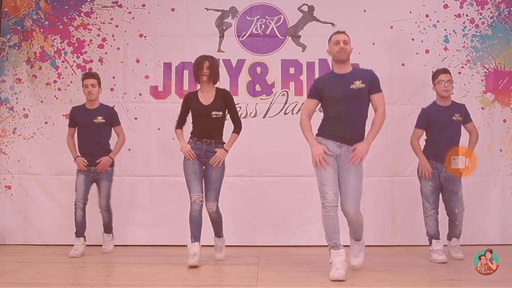 "Balli di Gruppo 2017 "" ROCKABYE "" Joey&Rina"