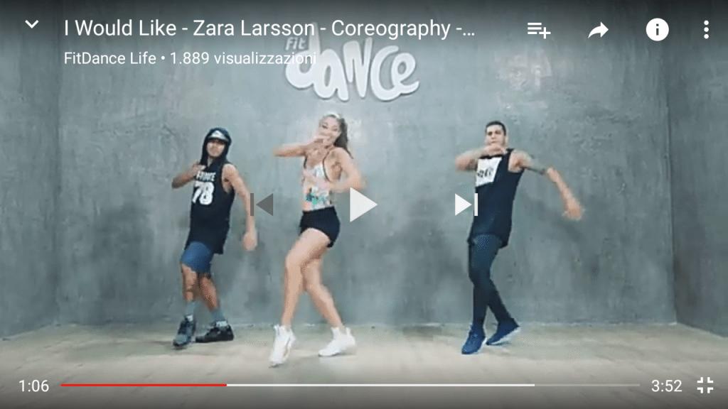 Zumba Fitness - Zara Larson - I would like