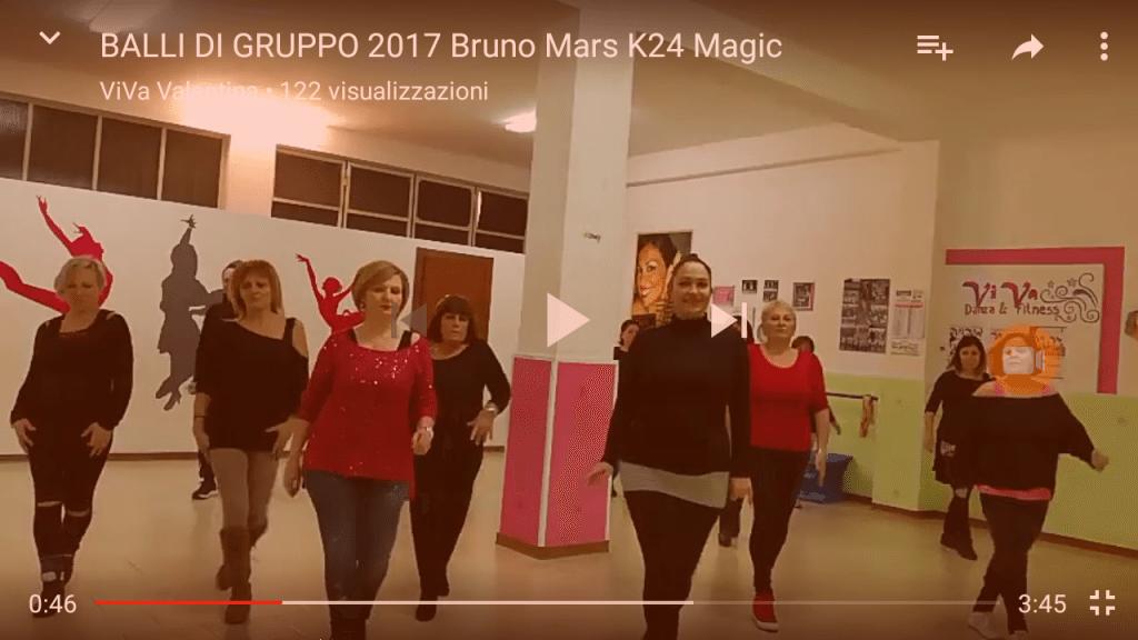 Balli di Gruppo - gennaio 2017 - Bruno Mars - K24 Magic
